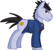 Phoenix Wright: Ace A-pony by Sharubii