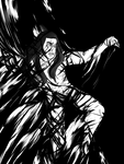 Melkor in the Void by Sketchevrywir
