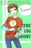 Sheldon Cooper by AnimeandCartoonFan