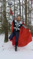 Thor Cosplay For Asgard! by KwongBee-Arts
