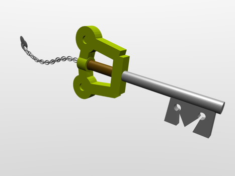 Keyblade Model by Philis3D-Stock