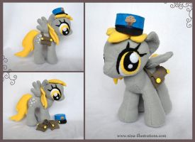 Derpy Plushie by Dragons-Garden