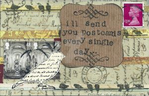 Postcards Every Day by lonesomeaesthetic