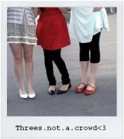 threes not a crowd II by wasting-time88