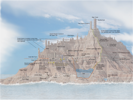 Skyship city sife map (details) by vonmeer