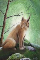 Horned Lynx by CDrice