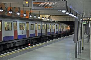 London Underground at Gloucester Road Station by jhg162