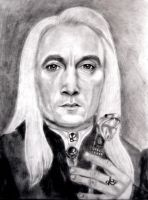 Lucius Malfoy by tanjadrawing