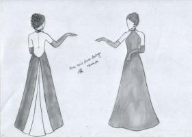 Ball dress design '10 by Futoiki