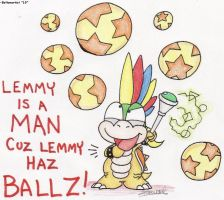 Lemmy has Balls by Boltonartist