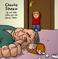 He tried Charlie Sheen by zAidoT