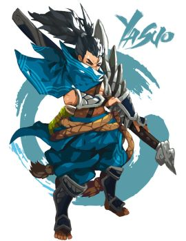 Yasuo, The Unforgiven. by Hero-Medley