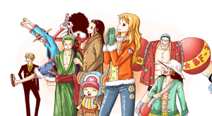 One piece Group jacket by JERRYABISTADO