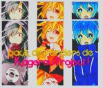 Pack de renders Kagerou Project by Arimaie