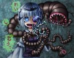 parasitic worm girl by Ray-kbys