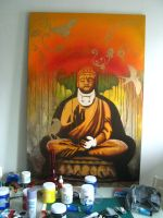 iBuddha by indodreamin