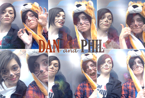 DanAndPhil by ASAMESHII