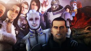 Mass Effect Selfie by Yhrite