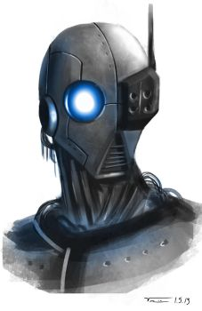 Robot Sketch by vinman99999