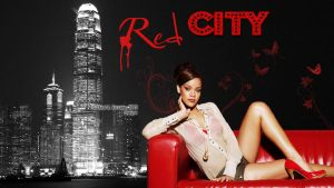 Rihanna Red City by AnnieSerrano