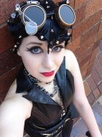Steampunk Cat Woman by CoversAndCosplay