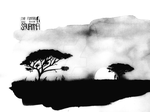 The Funeral in the Savanna by ray-s