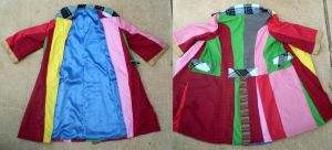 The Infamous Sixth Doctor Coat by darksporechild