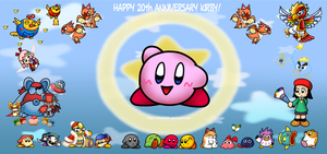 Happy 20th Anniversary Kirby by KiKiD484