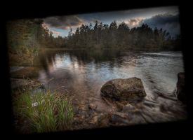 Tilted Water by Mizth