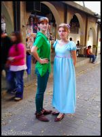 Wendy and Peter Pan by photocosplay