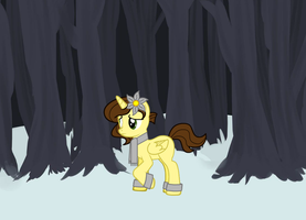 me in the snow by Ebony1234