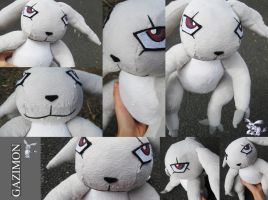 Gazimon Plush - Digimon by plooshieS2