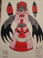 TOME Oc: Ave.EXE (Final Virus Form) by Sculla