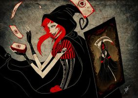 Red Poison - Tarot by obscureBT