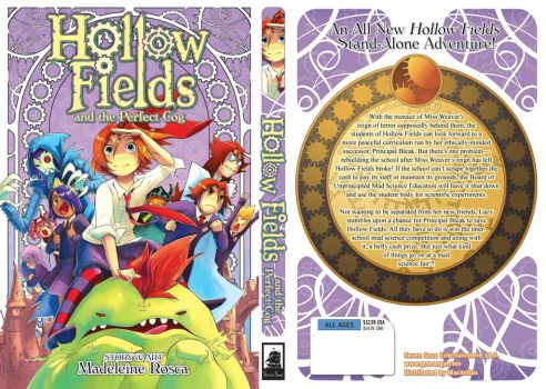 Hollow Fields volume 4 cover by Clockwork7