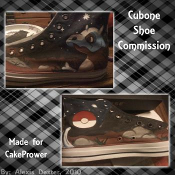Cubone Shoe Commission by Sparkle-And-Sunshine