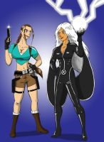 Laura vs Storm request by StreetKnights901