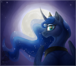 Princess of the Moon by Japandragon