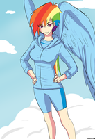 Rainbow Dash by Ninja-8004