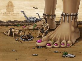 The Deaf Giantess 25 by DragonessLife