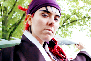 Abarai Renji - close up and personal by schattenwind