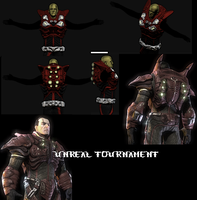 Unreal Tournament 3 character by gunzet
