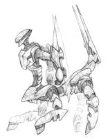 Orbital Frame sketch by Light-and-Darkness