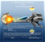 """R-9D """"Shooting Star"""" by Wes2299"""