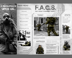 F.A.G.S. Website Design by Some-Asian-Guy