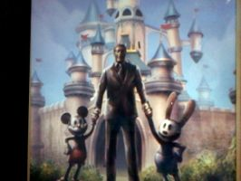 epic mickey 2 concept art by oswaldfan