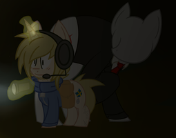 Don't turn around Pewdie! by Sutetchi
