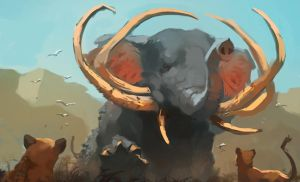 Highly Mutated Elephant by Raph04art