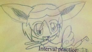 if i had victini features... by shayminlover492