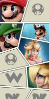 Super Smash Bros (constantly in progress) by Reillyington86